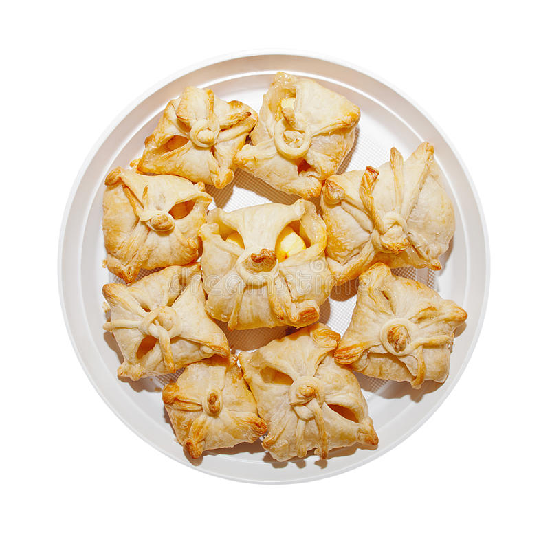 Download Delicious Crunchy Sweet Puffs Stock Image - Image: 30037915