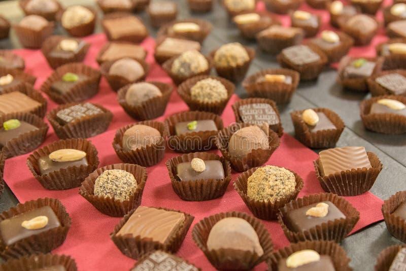 The delicious Danish chocolate. Shot in Denmark stock image