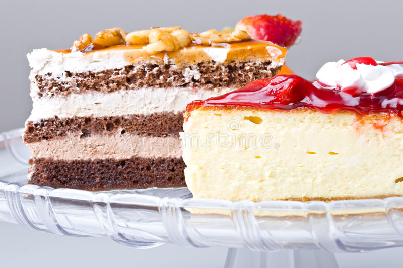 Download Delicious Dessert Gourmet Cherry Cheese Cake Stock Image - Image: 12927441