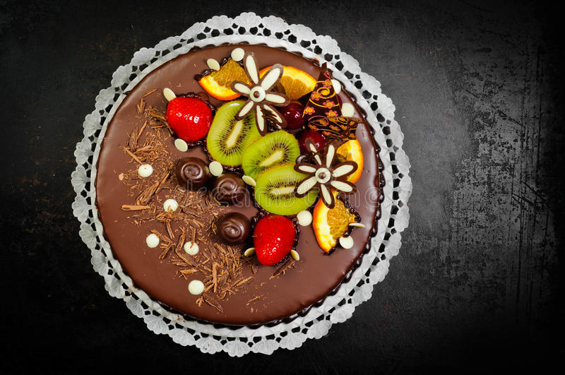 Download Delicious dessert on plate stock photo. Image of decoration - 24135672
