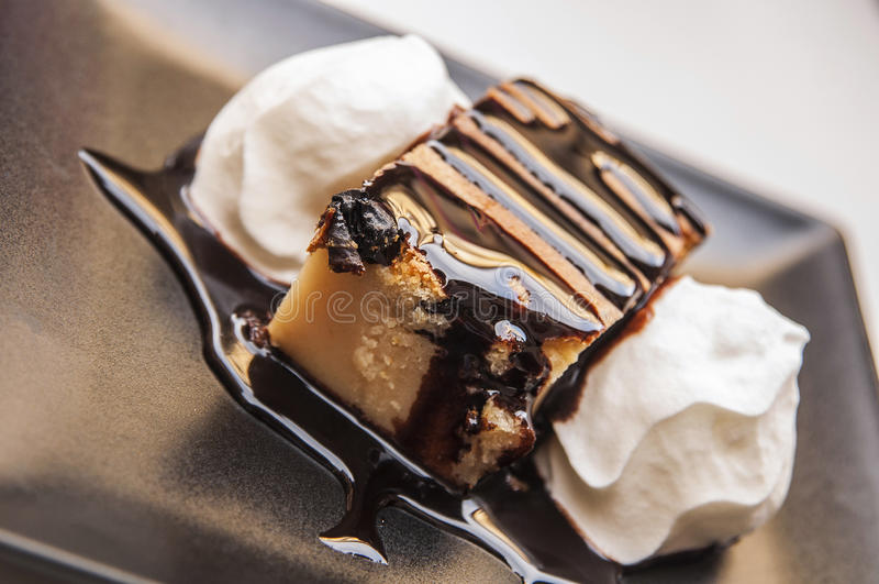 Delicious dessert royalty free stock photography