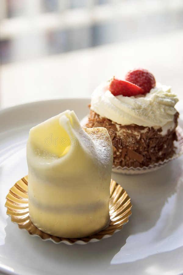 Delicious desserts royalty free stock images