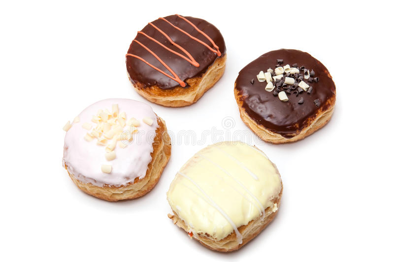 Download Delicious Donuts stock photo. Image of fresh, chocolate - 29031054