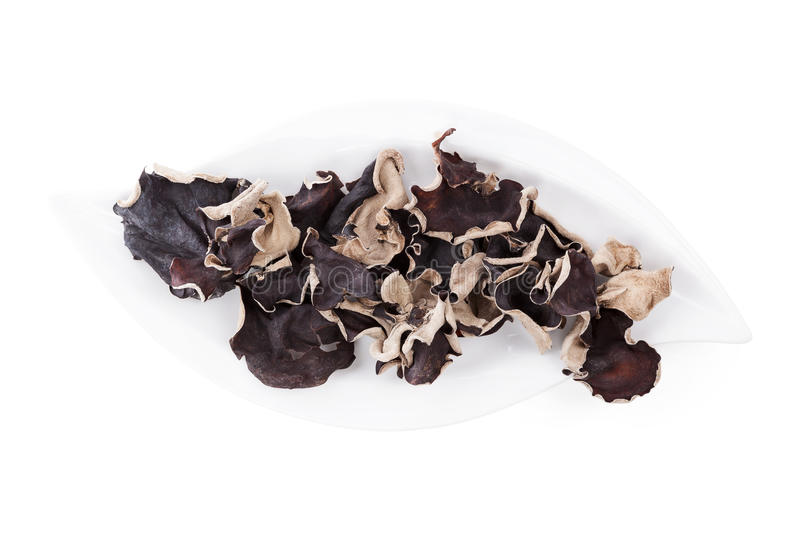 Download Jew's Ear On Plate, Top View. Stock Photo - Image: 29835250