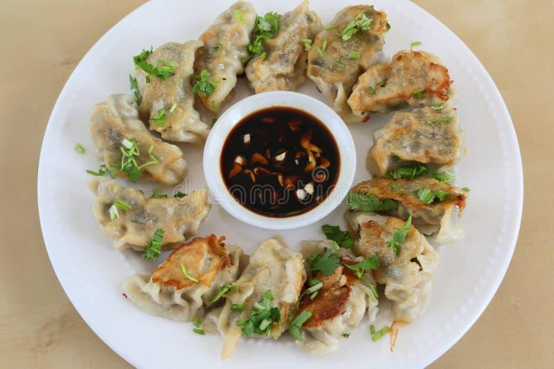 Delicious dumpling royalty free stock photos
