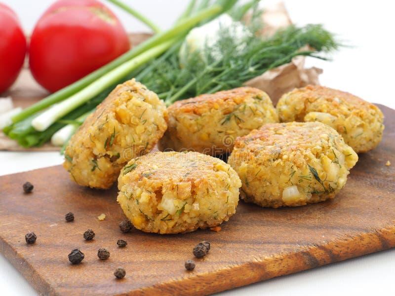 Homemade Falafel balls. stock photography