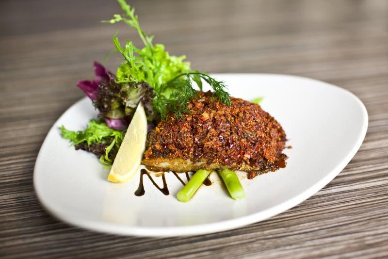 Delicious fish royalty free stock photos