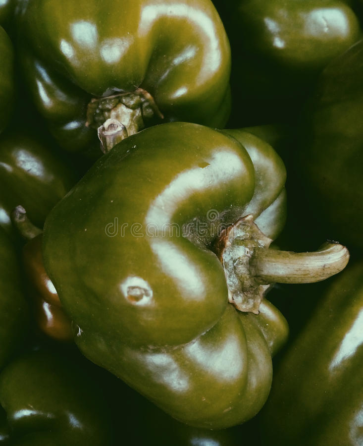 Delicious Food.Vegetable.Capsicum stock image