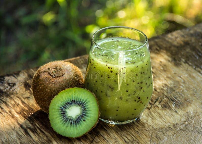 Delicious Fresh Kiwi Smoothie. Healthy drinks. kiwi juice stock photos