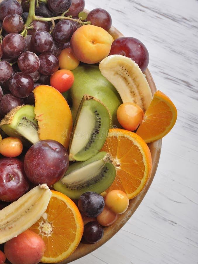 Delicious fruits stock photos