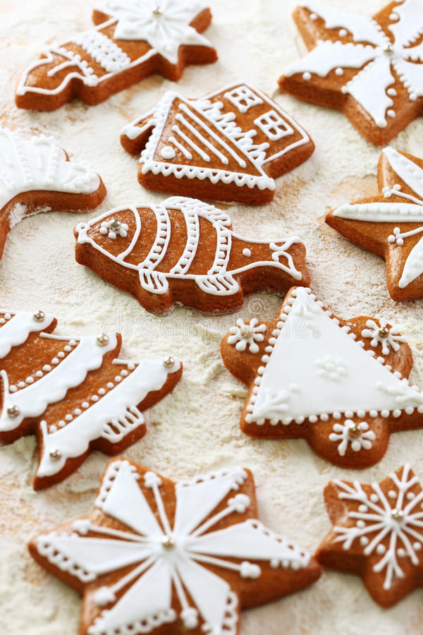 Download Delicious Gingerbread Cookies For Christmas Royalty Free Stock Photography - Image: 26085587