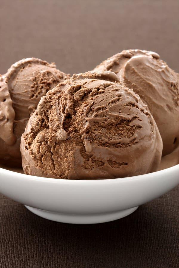 Download Delicious Gourmet Chocolate Ice Cream, Stock Photo - Image: 19867018