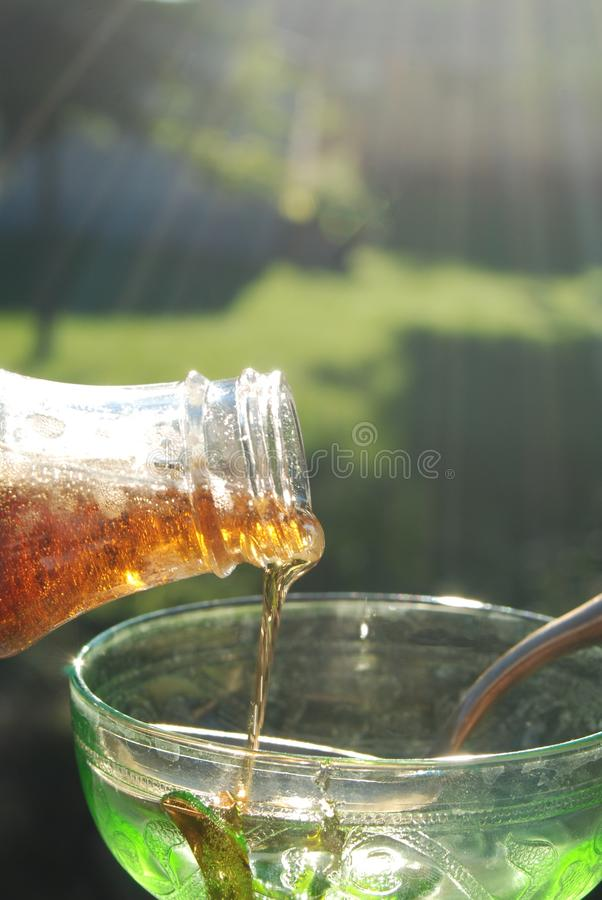 Delicious Grade A Maple syrup royalty free stock images