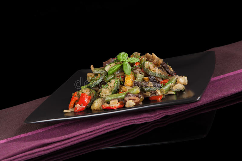 Download Delicious Grilled Vegetable Mix. Stock Photos - Image: 26830543