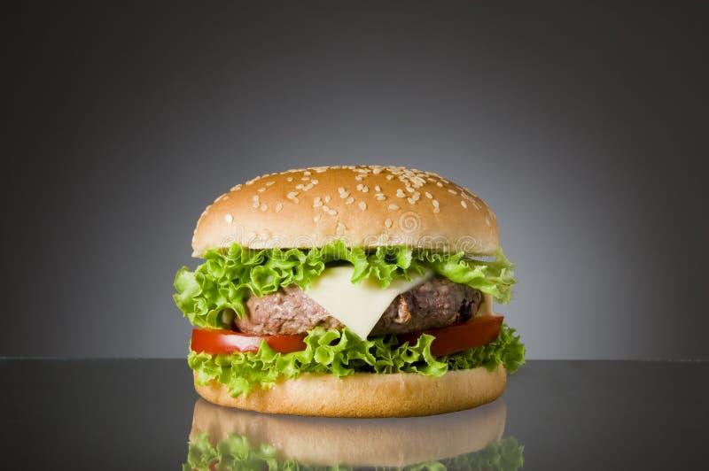 Delicious hamburger stock images