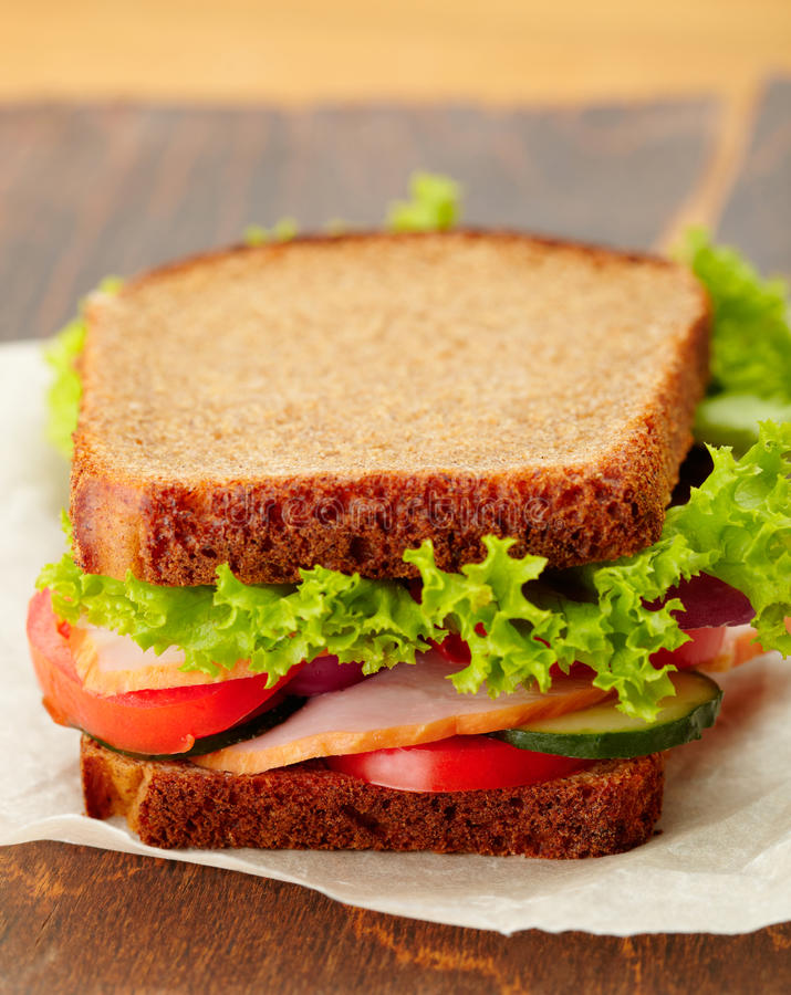 Download Delicious And Healthy Sandwich Stock Image - Image: 27102889