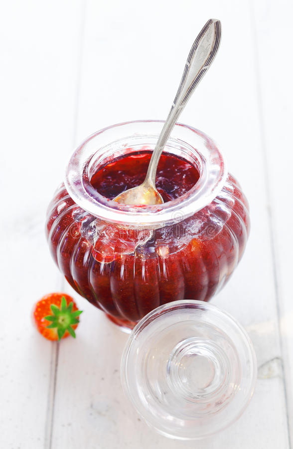 Download Delicious Homemade Strawberry Preserve Stock Image - Image: 28651971