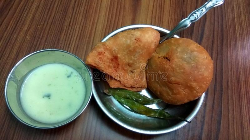 Indian Street Food royalty free stock image