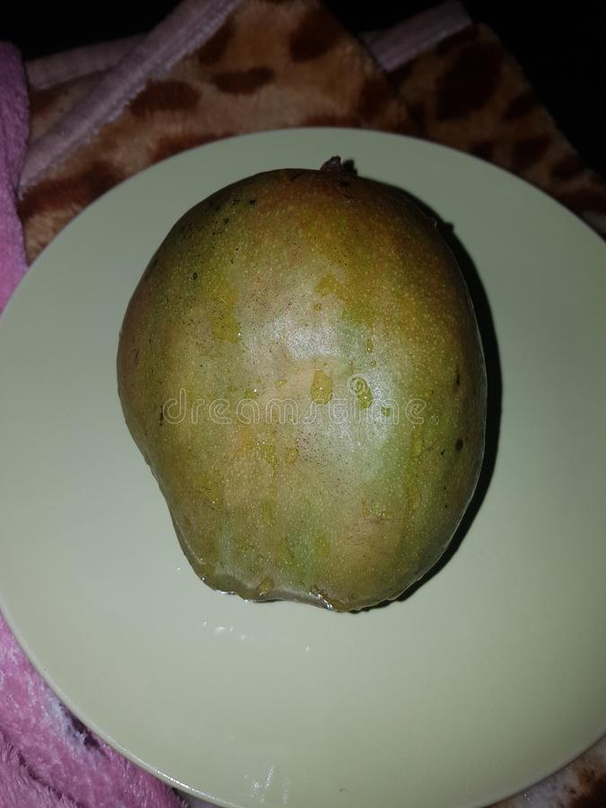 Juicy mango royalty free stock photography