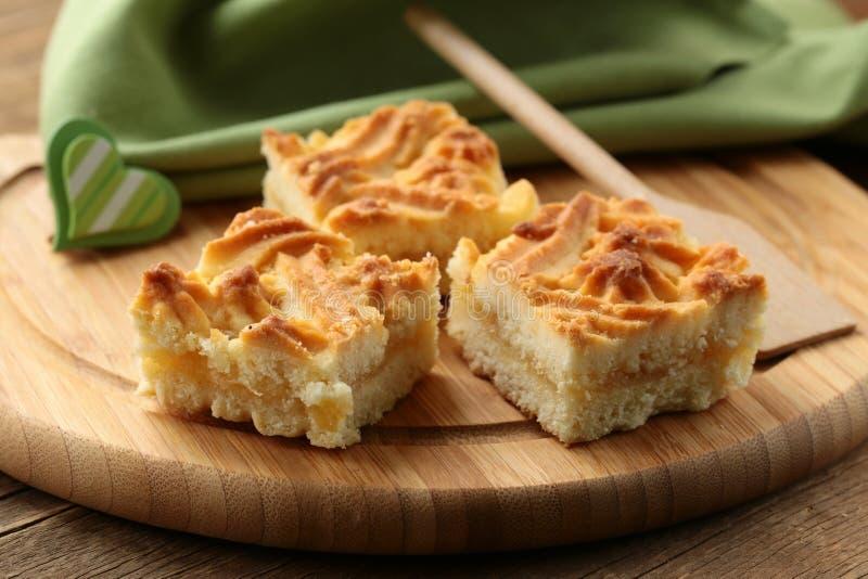 Delicious lemon pie stock photo