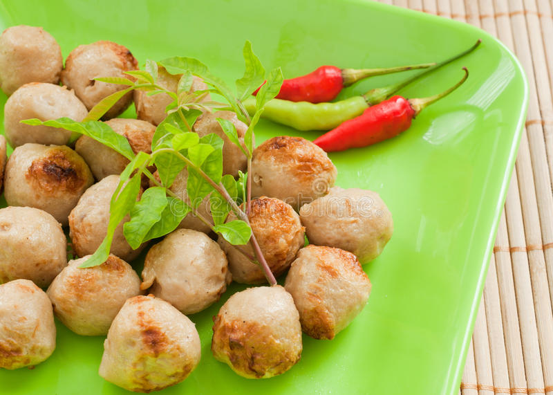 Download Delicious meatballs stock image. Image of plate, healthy - 26220085