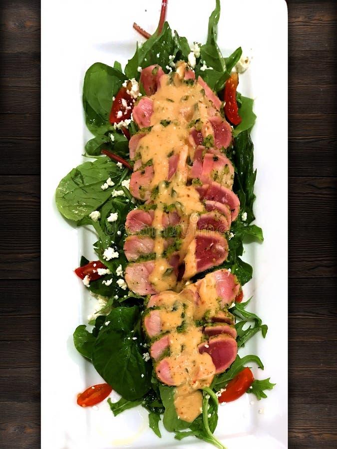 Medium pork salad stock photo