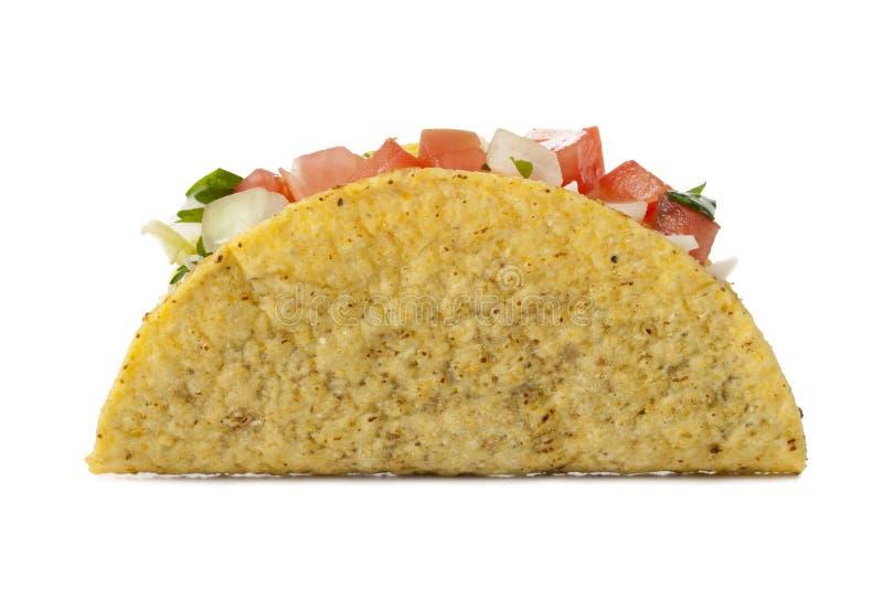 Delicious mexican taco stock photo