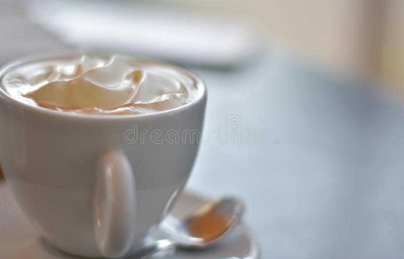 Delicious morning coffee royalty free stock photo