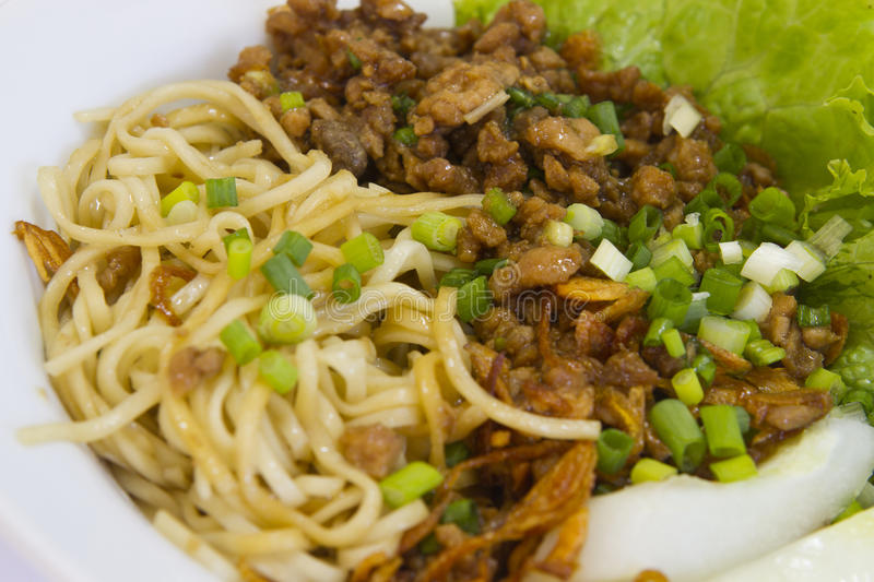 Delicious noodle royalty free stock images