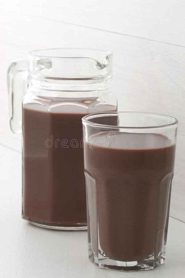 Download Chocolate jar and glass stock photo. Image of fat, gallon - 29798334