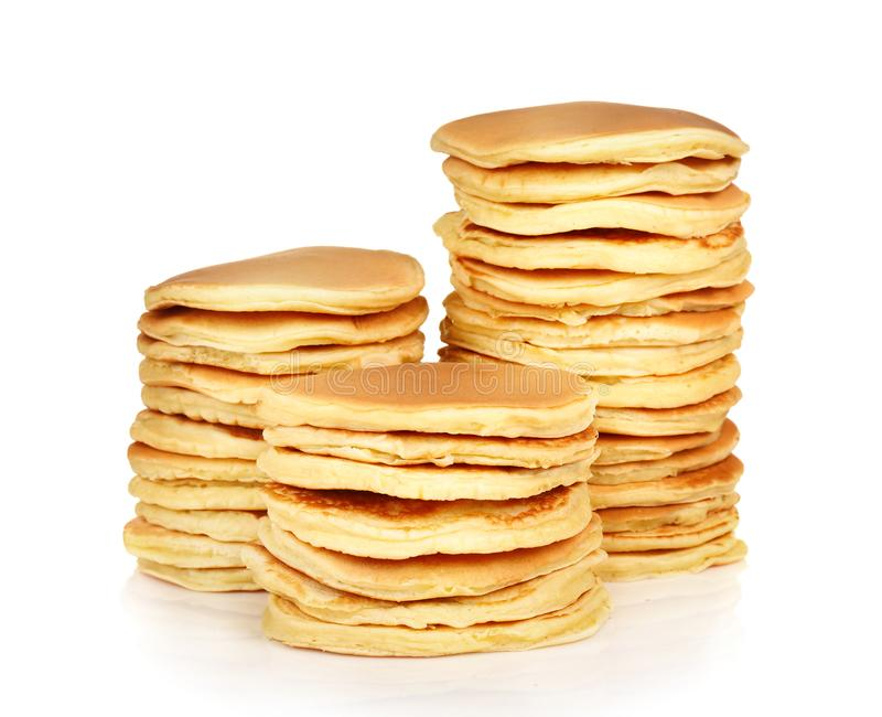 Delicious pancakes royalty free stock images