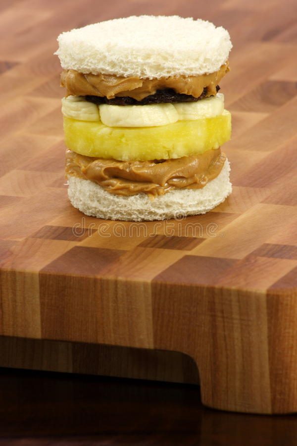 Download Delicious  Peanut Butter And Jelly Sandwich Stock Image - Image: 14971267