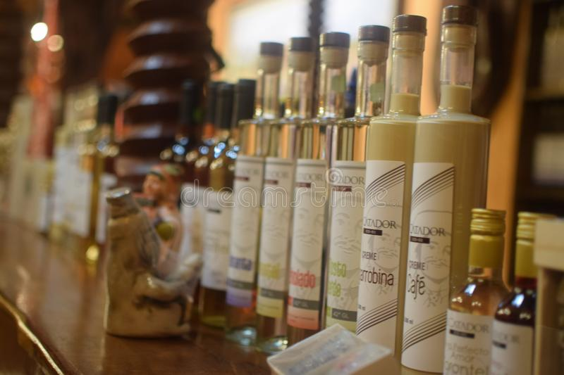 Delicious pisco peruano royalty free stock images