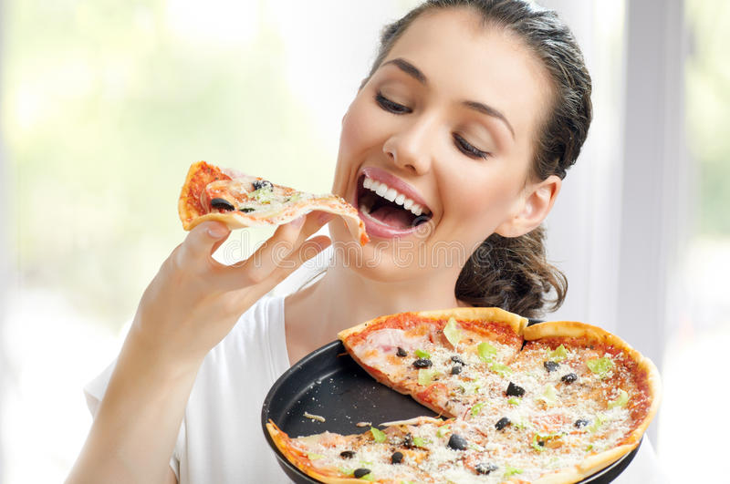 Delicious Pizza Royalty Free Stock Photography