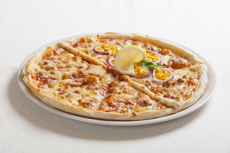 Delicious pizza stock images