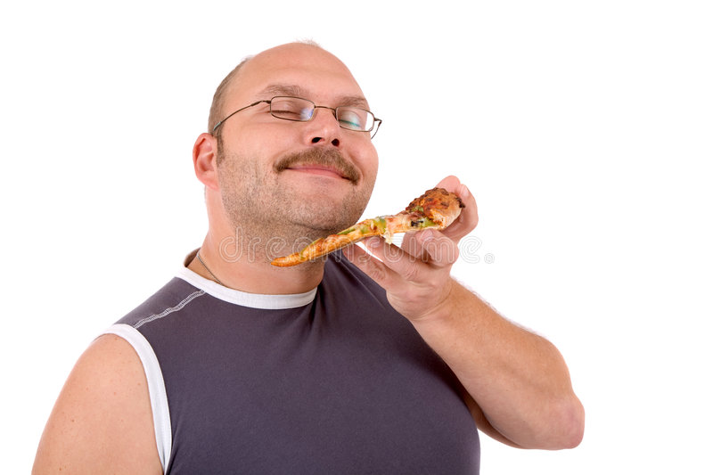 Delicious Pizza Smell Royalty Free Stock Photo