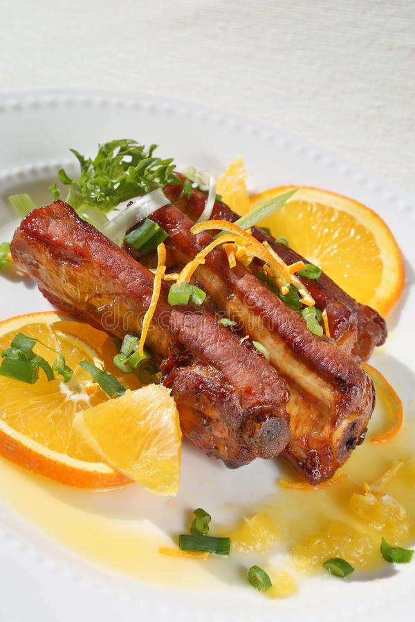 Download Delicious Pork Ribs Royalty Free Stock Images - Image: 36226539