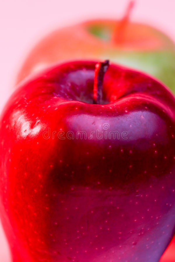 Delicious Red Apple and Granny Smith Apple royalty free stock images