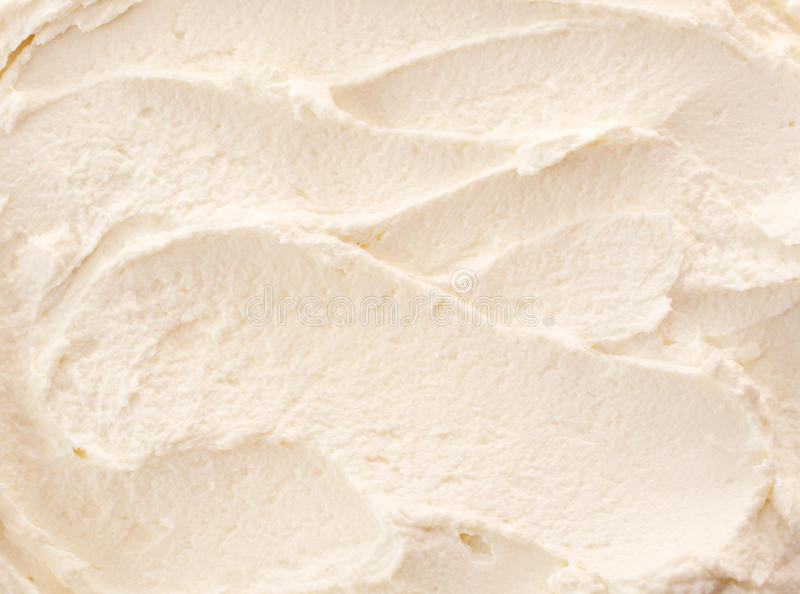 Delicious refreshing lemon or vanilla ice-cream royalty free stock images