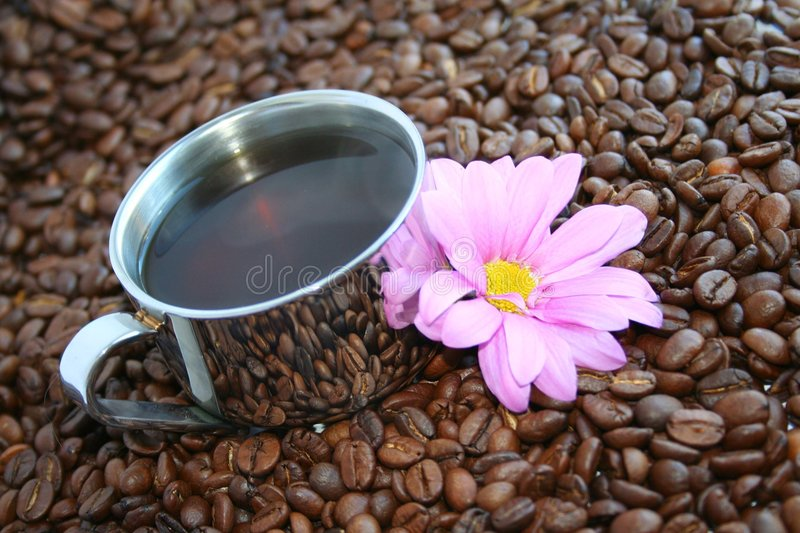 Delicious roasted Coffee stock photography