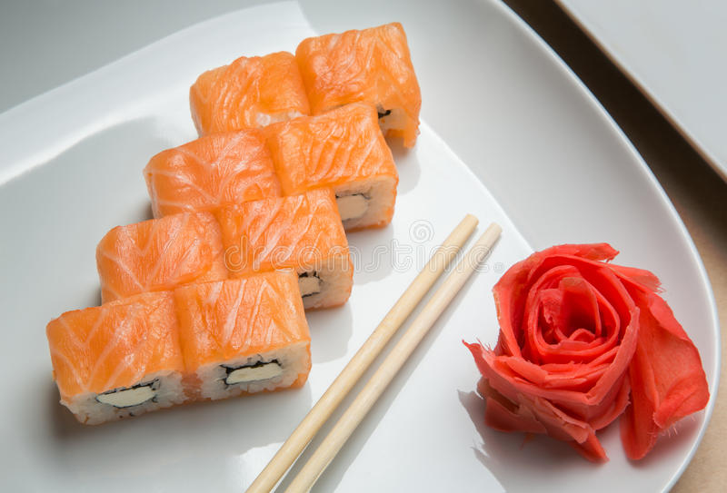 Delicious rolls royalty free stock photography