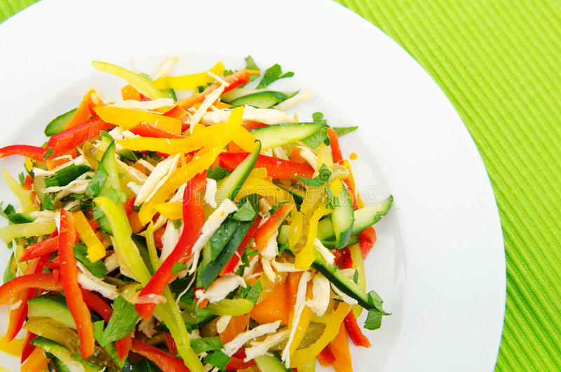 Download Delicious salad stock image. Image of background, greek - 20947163