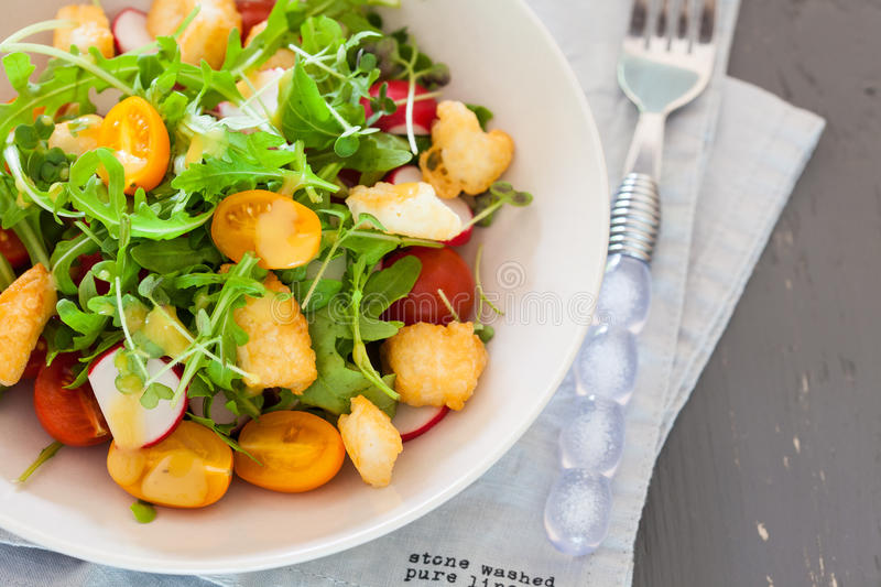 Download Delicious salad stock photo. Image of rocket, fresh, salads - 25518556