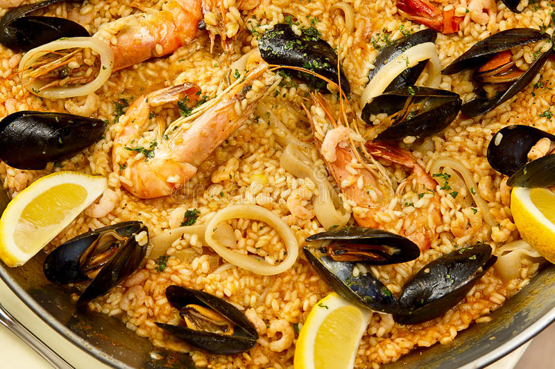Download Delicious spanish paella stock photo. Image of mediterranean - 24978924