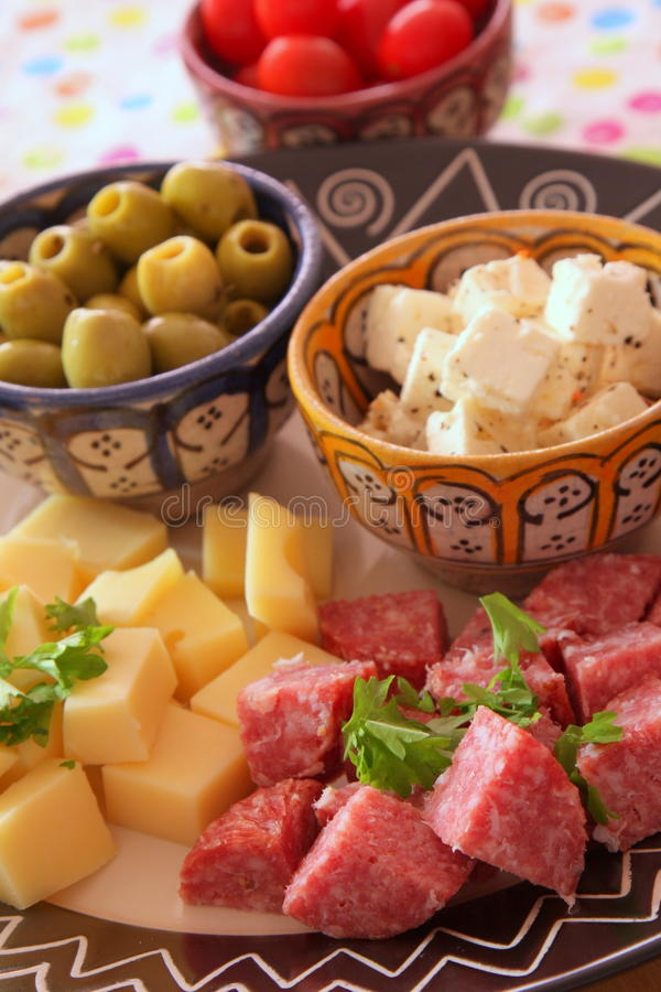 Download Delicious starters stock image. Image of food, cheese - 10374935