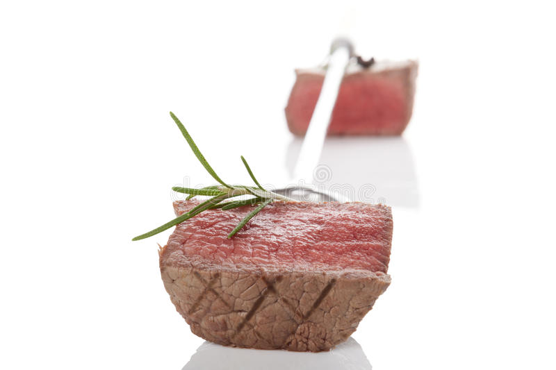 Delicious steak. royalty free stock image