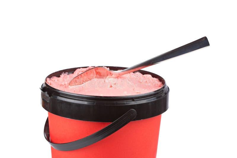Download Delicious Strawberry Ice Cream Stock Photo - Image: 16545816