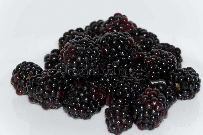 A Delicious Summer Fruit, Blackberries Have A Number Of Health Benefits Like Lowering Cholesterol And Fighting Cancer. Free Public Domain Cc0 Image