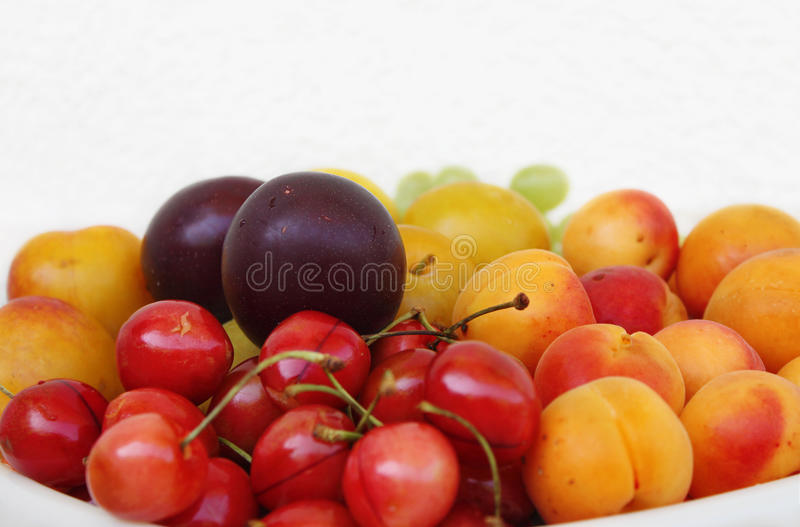 Delicious Summer Fruits stock photography