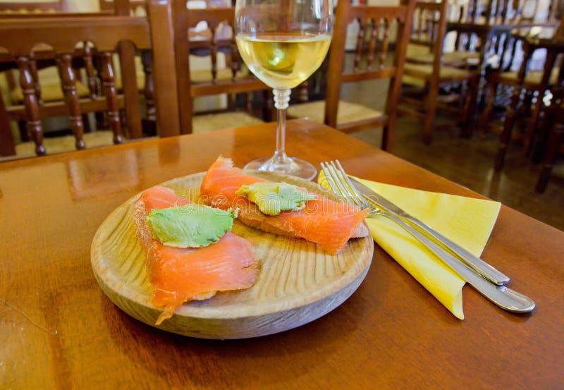 Delicious tapas spanish food cousine culture royalty free stock photos
